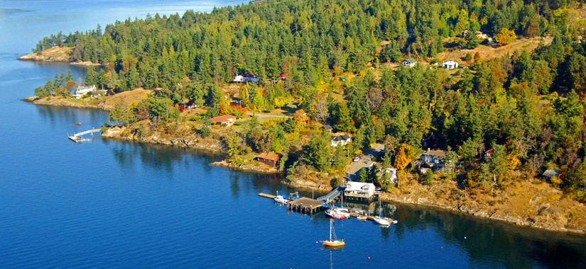 Moving to Pender Island
